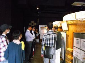 平成29年9月10~11日「秋の宿泊徒歩訓練~長野県諏訪方面」味噌蔵見学。ここで昼食もいただきました。