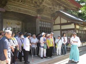 H28.9.4~5磯前神社にて