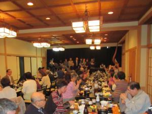 2020年(令和2年)1月18日「新年会」 中視協恒例の三河屋さんでの新年会 今年も沢山の会員が参加しました。